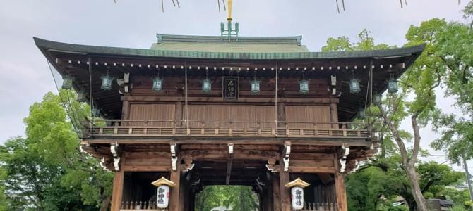 石切劔箭神社へライトワーク(*^-^*)